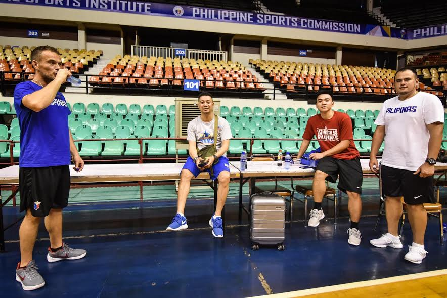 6-foot-11 Kai Sotto prepares for his debut in SEABA. Photo by LeAnne Jazul/Rappler