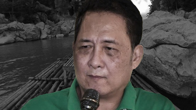 KILLED OVER CONTRACT? Mayor Ferdinand Bote allegedly intervened in a P96-million contract for the development of Minalungao National Park in General Tinio. Photos from Mabuhay Papaya LGU Facebook page; Pia Ranada/Rappler