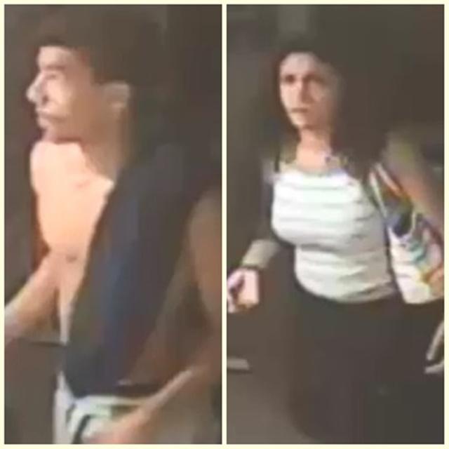PENCURI. Foto dua pencuri KJRI di New York yang diedarkan oleh polisi pada Selasa, 23 Agustus. Foto dari Polisi New York