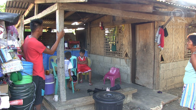 VELOSO HOME. Mary Jane Veloso's parents live on borrowed land in Nueva Ecija. Photo by Buena Bernal/Rappler