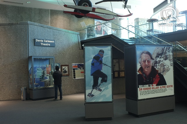 ODE TO ADVENTURE. The museum allows you to marvel at the feats of some of the greatest outdoor explorers in the world