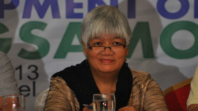 MISTAKEN IDENTITY. The Philippine National Police confirms Davao Today columnist Margarita Valle is set for release. Photo from Valle's Facebook account