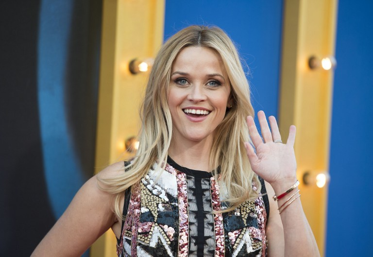 REESE WITHERSPOON. The actress calls for change for women in Hollywood. Photo by Valerie Macon/AFP