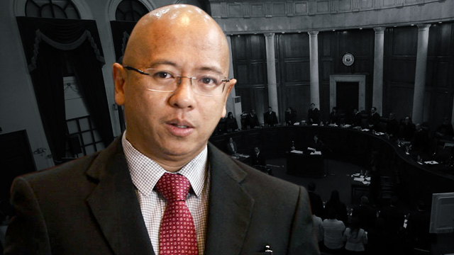 CONVENE CONGRESS. Former solicitor-general Florin Hilbay asks Congress to convene and deliberate on the declaration of martial law.