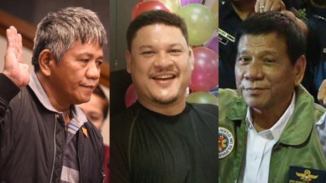 DUTERTE'S ORDERS? Edgar Matobato mentions during the Senate hearing on September 15 various killings allegedly ordered by President Rodrigo Duterte and Davao City Vice Mayor Paolo Duterte.