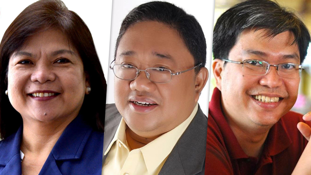 'FLOATING'. The three Interior Undersecretaries have been clipped of their powers, only able to represent the DILG in meetings and conferences for the past 3 months. Photos from the officials' Facebook pages