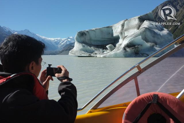 ICE 101. The tour will take you close to icebergs which can roll dangerously, prompting speedy getaways care of skilled boatmen