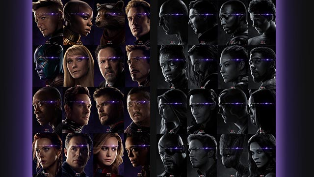 THE FALLEN. Character posters reveal who's been snapped away u2013 including those who were killed off-screen. Images courtesy of Marvel Studios