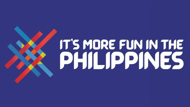 FILIPINO LOOK. The Philippines' tourism campaign logo is redesigned with a new font called Barabara. Photo from the Department of Tourism