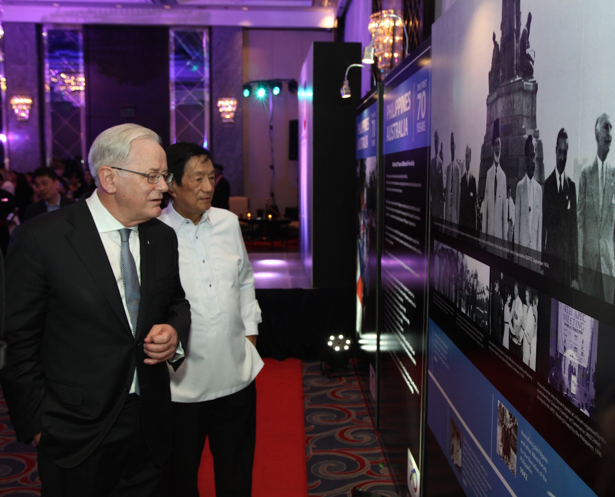 PHILIPPINES AND AUSTRALIA: THE FIRST SEVENTY YEARS. An recently launched exhibition features photographs from Philippine-Australian history. Photo from the Australian Embassy's press release