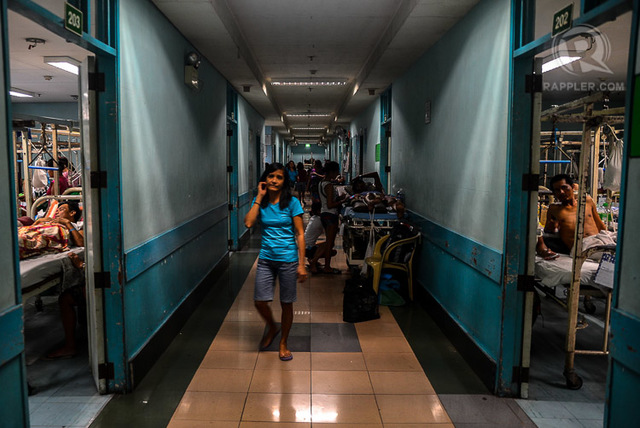 NEEDING MODERNIZATION. The POC is one of the infrastructure projects the government could not fund alone. Photo by Jansen Romero/Rappler