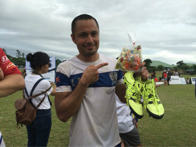 Derek Ramsay overcome an infected toe to compete in the Manila Spirits finals. Photo by Ryan Songalia