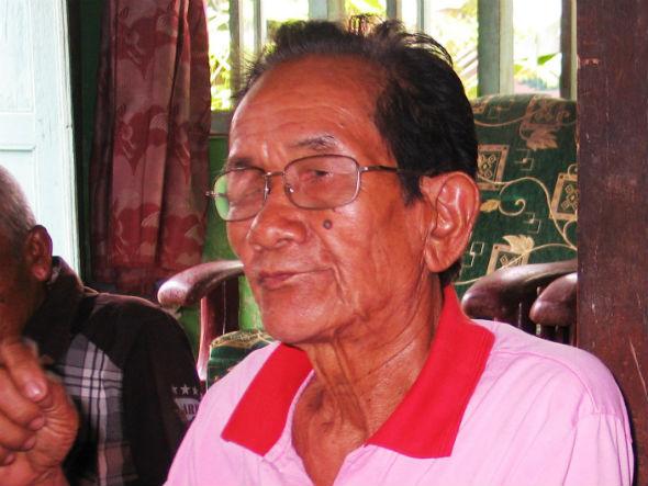 Suyitno (76 tahun), penyintas 65 dari Yogyakarta. Foto oleh Ari Susanto