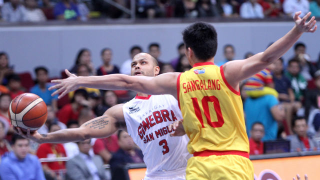 SOL-TRAIN. Tenorio hits the game-winner after Mercado helps force OT. Photo from PBA Images