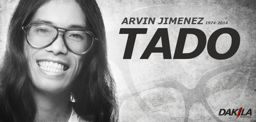 TADO. Arvin 'Tado' Jimenez is best remembered for being both a comedian and human rights advocate. Image courtesy of Dakila