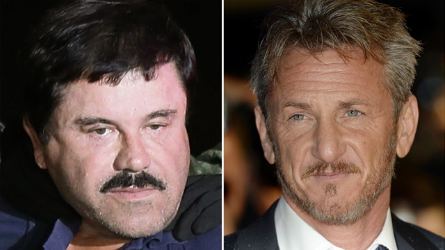ACT OF PROPAGANDA? An interview of Joaquin 'El Chapo' Guzman with US actor Sean Penn, published January 9, 2016 by the 'Rolling Stone' magazine, helped to find his whereabouts, a source from the Mexican attorney general's office confirmed to EFE. File photos from EPA