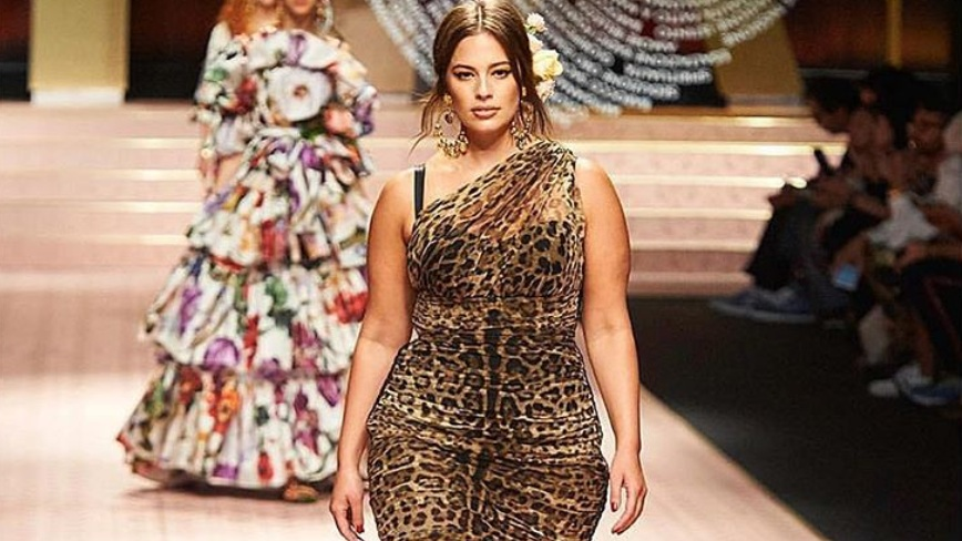 SIZE INCLUSIVITY. Nebraska's Ashley Graham advocates model size diversity, being the first ever plus-size model to appear on a Sports Illustrated cover. Photo from Ashley Graham's Instagram account