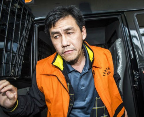 Mantan Direktur Utama PT Agung Podomoro Land Ariesman Widjaja dihukum tiga tahun penjara oleh pengadilan Tindak Pidana Korupsi di Jakarta pada Kamis, 1 September. Foto oleh Antara.