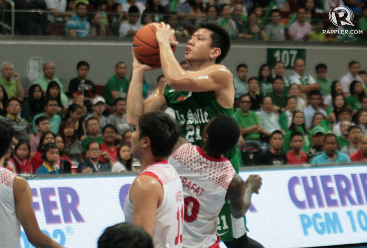 Jeron Teng of La Salle scored 18 points and grabbed 6 rebounds, including several clutch plays down the stretch. Photo by Kevin Dela Cruz/Rappler