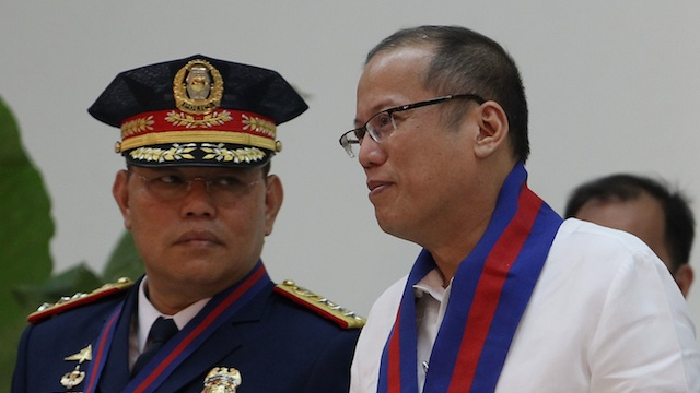 TRUSTED ONE. It took the President almost two weeks before deciding to let go of his good friend, former PNP Chief Alan Purisima. File photo by Robert Viu00f1as / Malacau00f1ang Photo Bureau