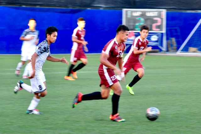 UP captain Daniel Gadia has led the Maroons to the top but can UST still catch them? Photo by Bob Guerrero/Rappler