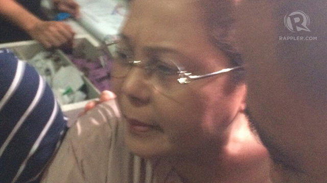 SPECIAL TREATMENT? File photo of former Enrile chief of staff Gigi Reyes