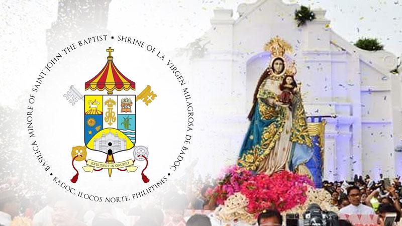 POPE'S CHURCH. Church officials solemnly declares the Shrine of La Virgen Milagrosa de Badoc in Ilocos Norte as a minor basilica - a church with special pontifical privileges. Photos from La Virgen Milagrosa de Badoc - Coronada Facebook page