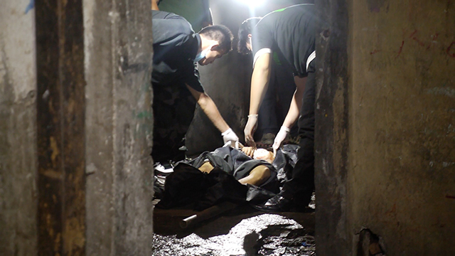 SHOT. John Paul Martinez, 21 years old, dies from several gunshot wounds after an encounter with Manila police.