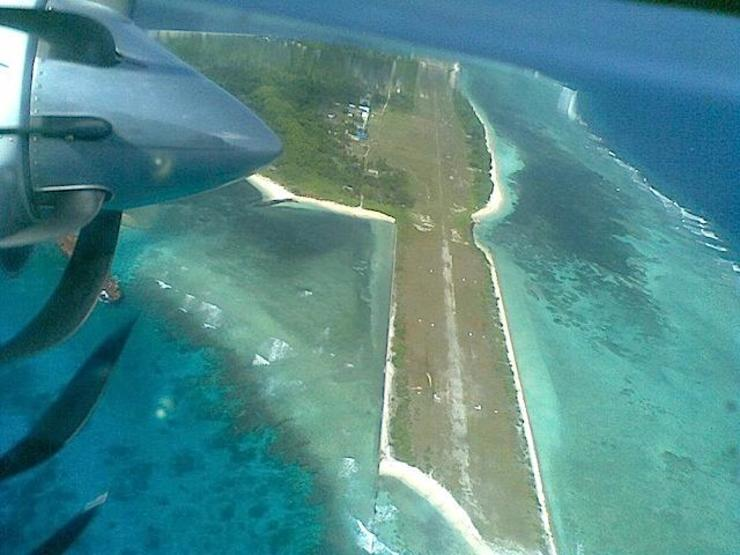 PROVOCATIVE? The Philippines is set to repair the damaged Rancudo Air Field in Pag-Asa island in the Spratlys