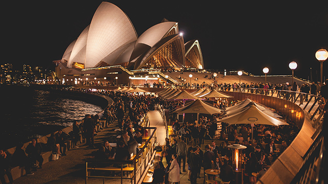 NEW RULES. Central Sydney is loosening up its rules on drinking, easing pub hours until after midnight. Photo from Shutterstock