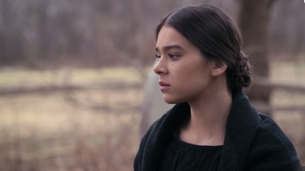 TV SERIES. The black comedy focuses on Dickinson's rebellious youth during an upbringing in a conventional middle-class New England household. Screenshot from trailer