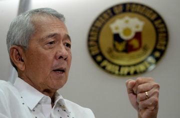 SEA ROW. Foreign Secretary Perfecto Yasay Jr says the official position of the Philippine government on the South China Sea row is that the disputed area does not belong to anyone. File photo from Agence France-Presse