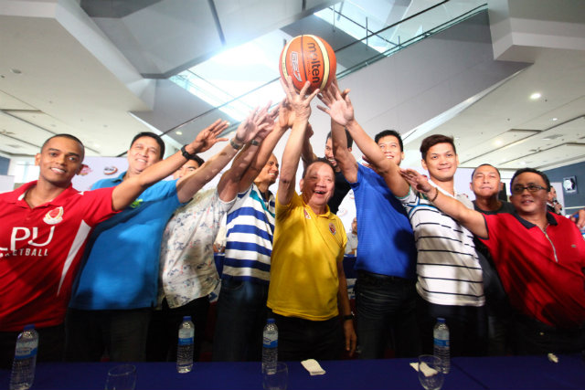The NCAA coaches have much to smile about after the league signed a new TV deal. Photo by Josh Albelda/Rappler