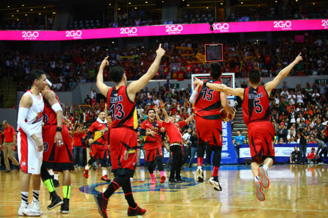 The thrill of victory. File photo by Josh Albelda/Rappler