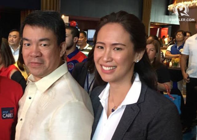 WEDDING. Senator Aquilino Pimentel III is getting married to fiancu00e9e Anna Kathryna Yu on October 18, 2018. File photo by Camille Elemia/Rappler