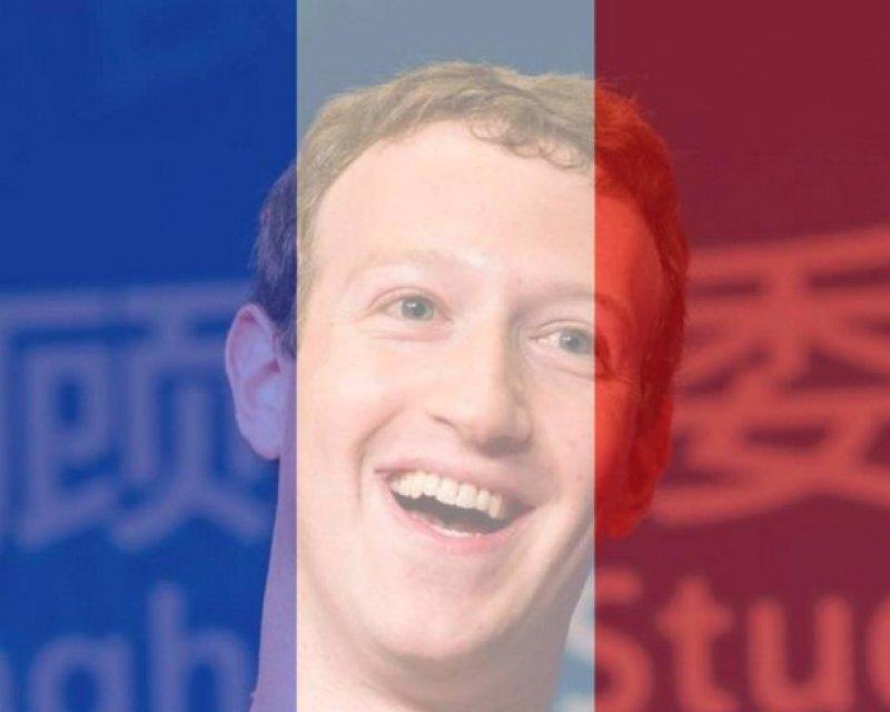 MARK ZUCKERBERG. Filter foto profil Facebook sebagai bentuk solidaritas terhadap serangan teroris yang terjadi di Paris, Perancis. Foto dari Facebook Mark Zuckerberg