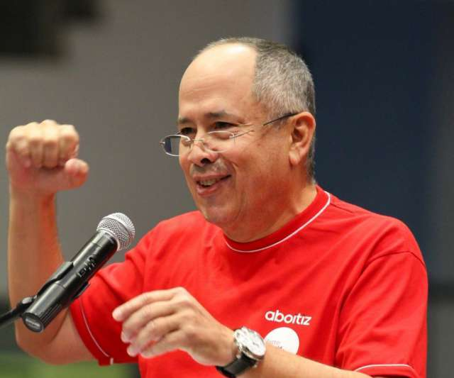 HIGHER INCOME. 'Our diversified portfolio gives us the resilience to sail through varying business cycles,' says Aboitiz Equity Ventures chief executive officer Erramon Aboitiz. File photo from AEV