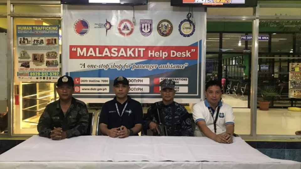 ACROSS THE COUNTRY. The Department of Transportation says all major transportation hubs in the Philippines will have a Malasakit Help Desk. Photo from DOTr