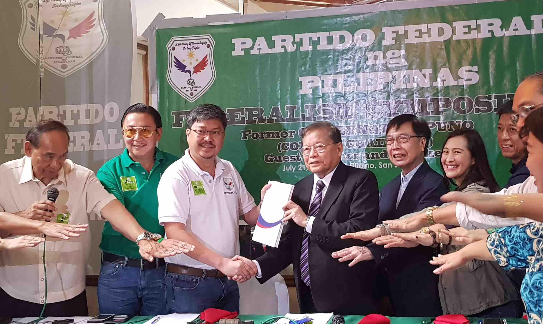 NEW PARTY. Partido Federal ng Pilipinas. Photo by Hinlo