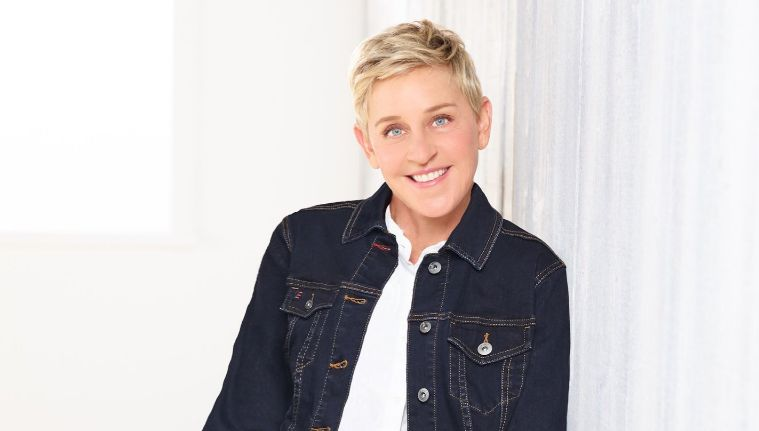 ABUSE. Ellen shares her experience with talk show host David Letterman. Photo from Ellen DeGeneres' Facebook page