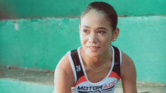 Tabal admits that her initial motivation for running was money and that she never could've imagined qualifying for the Olympics. Photo from Tabal's Facebook page