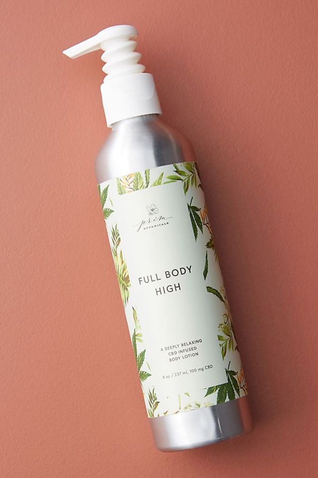 FULL BODY HIGH. This product is infused with cannabidiol or CBD. Photo from Stef Walmsley