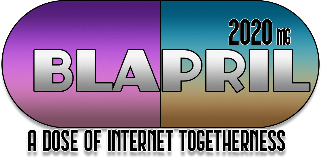 BLOG IN APRIL! Blapril keeps me going in the middle of a pandemic. Image made by Belghast of https://aggronaut.com.