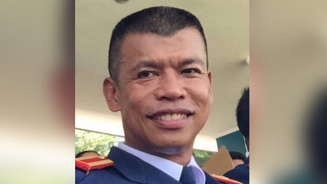 REMEMBERED. Superintendent Arthur Masungsong is a recognized figure in the PNP Anti-Kidnapping Group for his successful operations. PNP photo