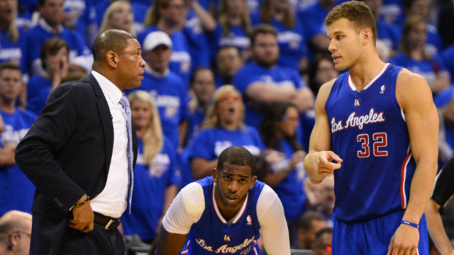 OUT OF COMMISSION. The Clippers will have to make do without their best big man. File photo by Larry W. Smith/EPA