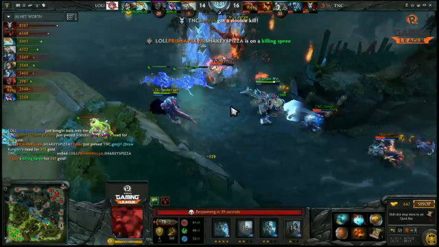 TNC Pro Gaming breaks the tie with a well executed team fight at the Rosh pit