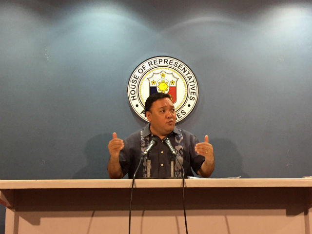 NEW ROLE? Kabayan Representative Harry Roque may soon have a new part to play in government. Photo by Mara Cepeda/Rappler