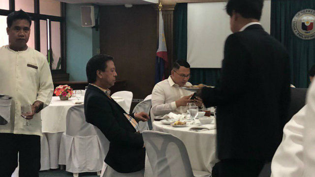 NOT A CONGRESSMAN YET. Duterte Youth Chairman Ronald Cardema is seen at the party-list bloc's meeting at Batasang Pambansa on June 4, 2019. Photo by Mara Cepeda/Rappler