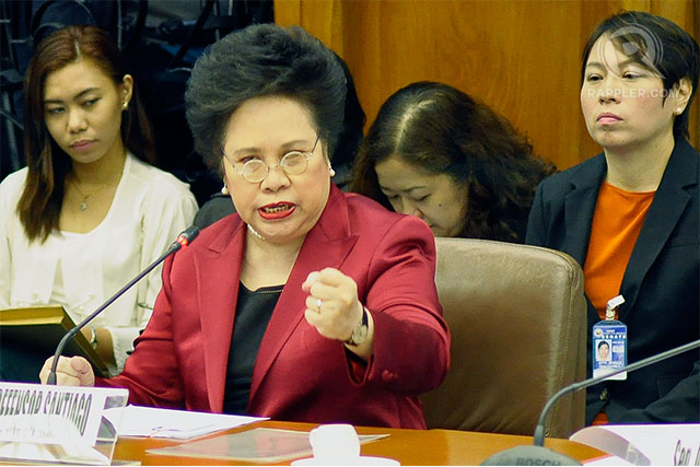 DIVORCE. Among all presidential bets, only Miriam Defensor Santiago is vocal in her support for a divorce law.