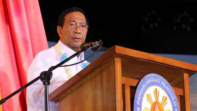 FARCE. Vice President Jejomar Binay says the Senate has prejudged him. File photo by Rappler